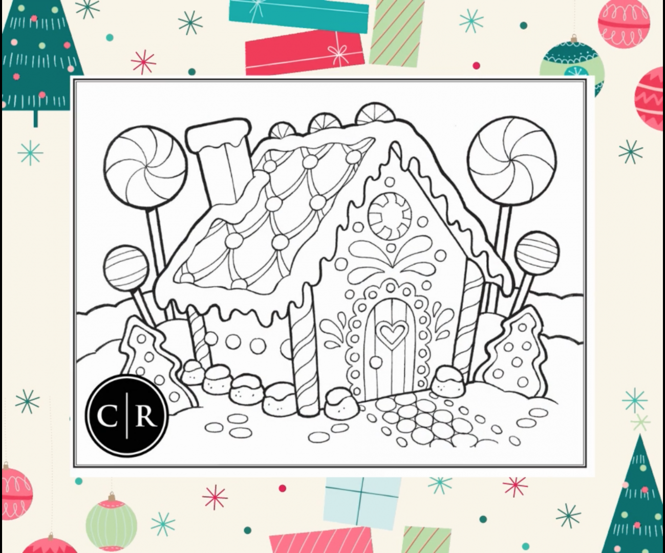 Christmas 2020 Colouring Contest!